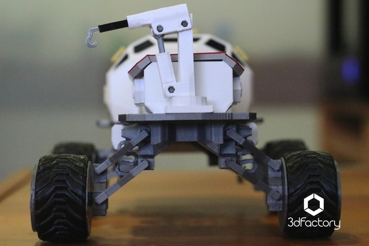 Martian Rover - The Martian - FDM 3dPrintable - 3dFactory Brasil 3D Print 119919