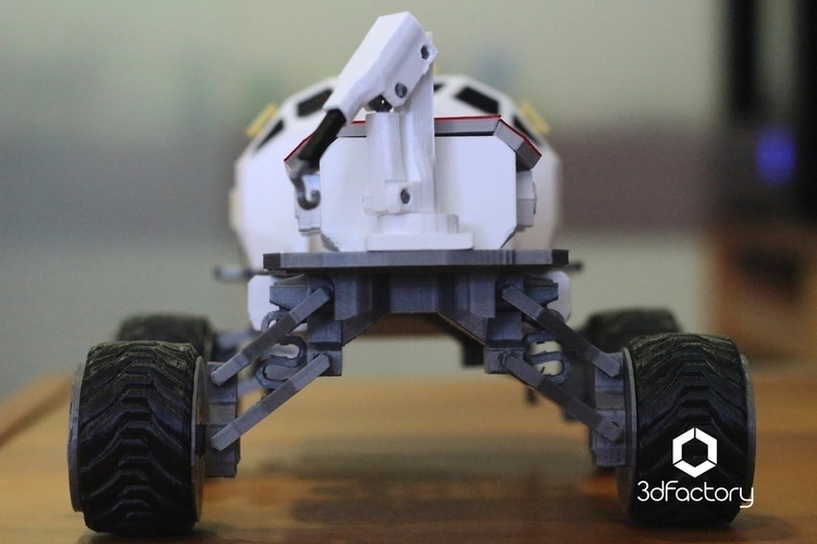 Martian Rover - The Martian - FDM 3dPrintable - 3dFactory Brasil 3D Print 119920