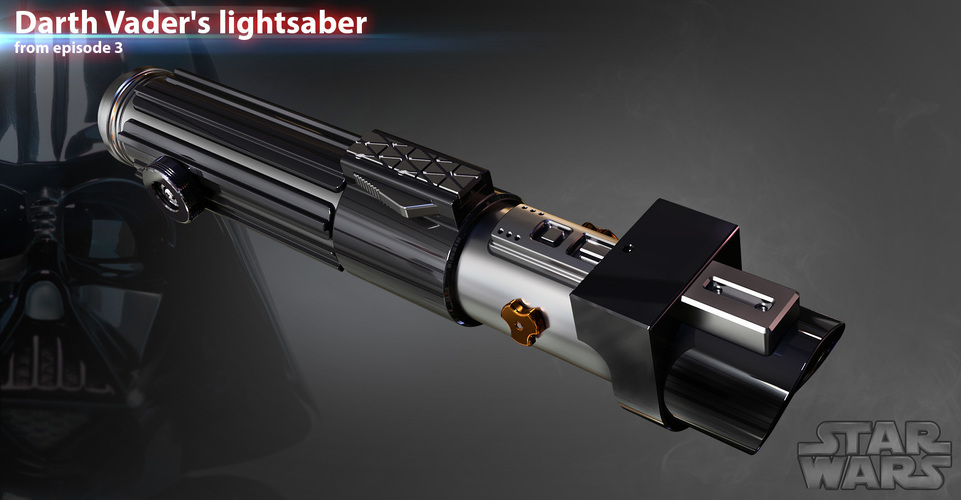 Darth Vaders lightsaber 3D Print 119940