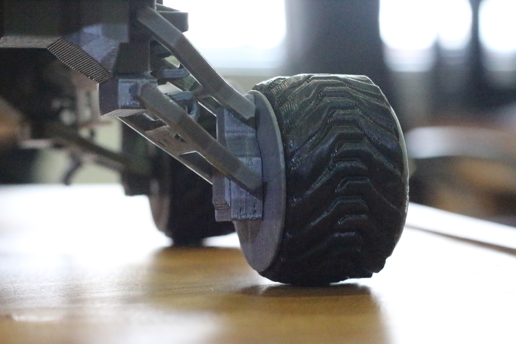 Martian Rover - The Martian - FDM 3dPrintable - 3dFactory Brasil 3D Print 119984