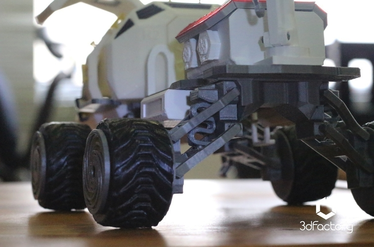 Martian Rover - The Martian - FDM 3dPrintable - 3dFactory Brasil 3D Print 119985