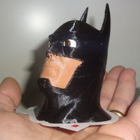 Small 4 colors Batman 3D Printing 120038