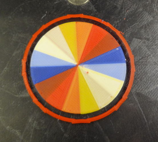 Wheel of color 3D Print 120073