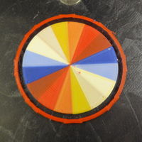 Small Wheel of color 3D Printing 120073