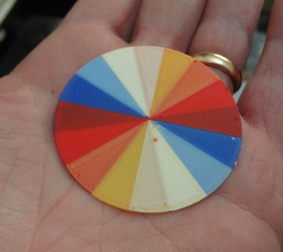 Wheel of color 3D Print 120074