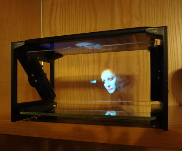 "TreolONE - another single face holographic display (7"" Tablet) 3D Print 120080"