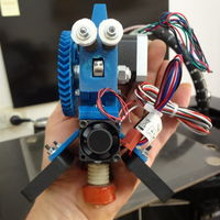 Small Prusa I3 Rework Extruder for IeC hotend 3D Printing 120093