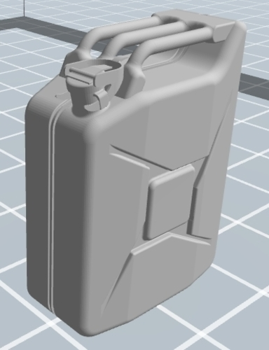 Jerrycan 1/16th scale 3D Print 120250