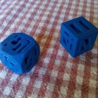 Small Hollow 3D Printed Die 3D Printing 120262