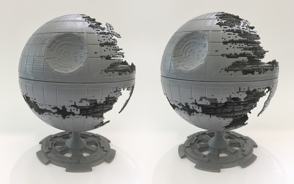 Medium Star Wars Death Star 3D Printing 120279