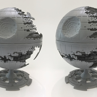 Small Star Wars Death Star 3D Printing 120279