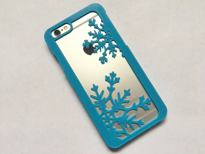 Snowflake iPhone 6/6s Case 3D Print 120284