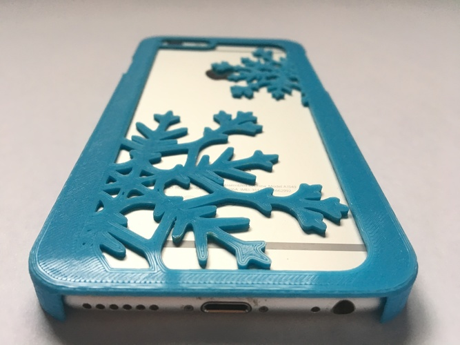 Snowflake iPhone 6/6s Case 3D Print 120285