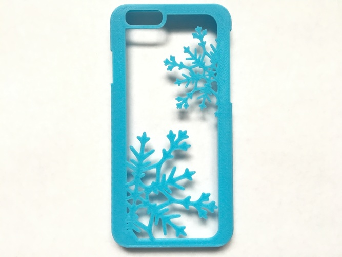 Snowflake iPhone 6/6s Case 3D Print 120289