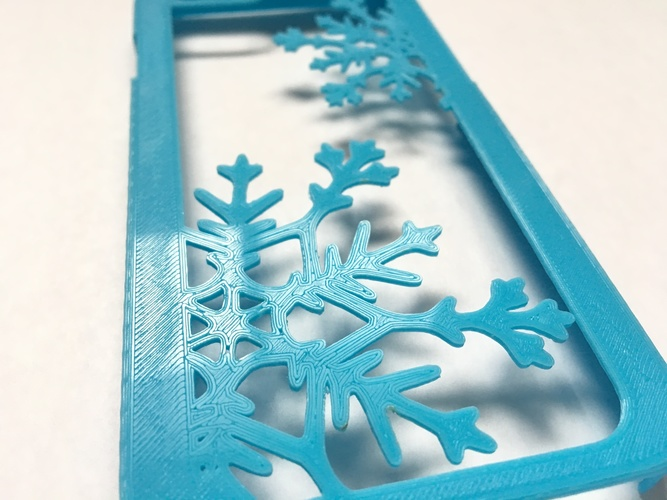 Snowflake iPhone 6/6s Case 3D Print 120290