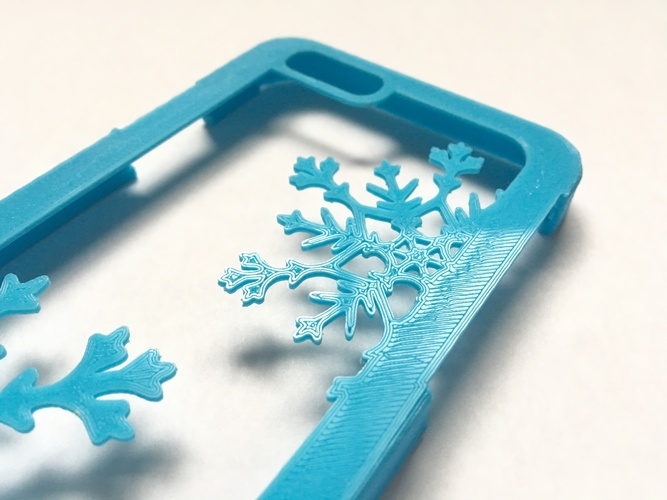 Snowflake iPhone 6/6s Case 3D Print 120291