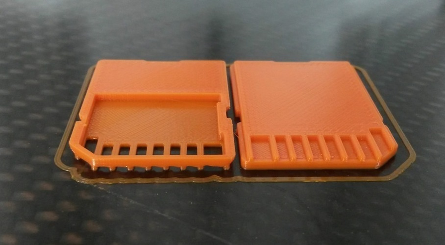 Replacement SD Card Case 3D Print 120310
