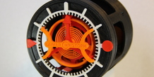 Horizontal thumbnail 3D-printed Watch with Tourbillon 3D Printing 120316