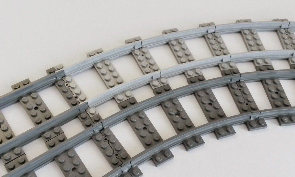 3D Printed Lego Train Track curved large Radius by TheGoofy | Pinshape