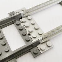 Small Lego Train Track Adapter 3D Printing 120326