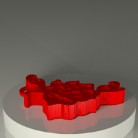 Small Rose_colgante 3D Printing 120338