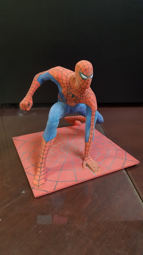 Medium Spiderman 3D Printing 120364