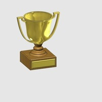 Small trophy 3D Printing 120366