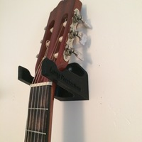 Small Guitar Wall Hanger  3D Printing 120371