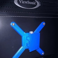 Small Wall mount monitor rotation VESA 100х100 & 75х75 3D Printing 120383