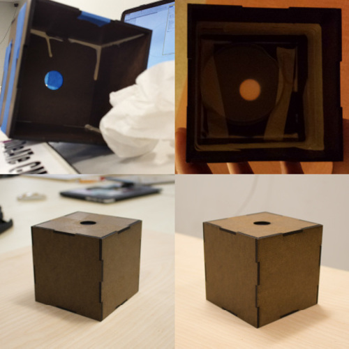 Laser-Cuttable Box 3D Print 120470