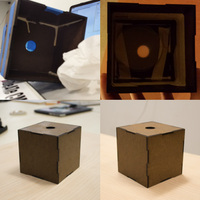 Small Laser-Cuttable Box 3D Printing 120470