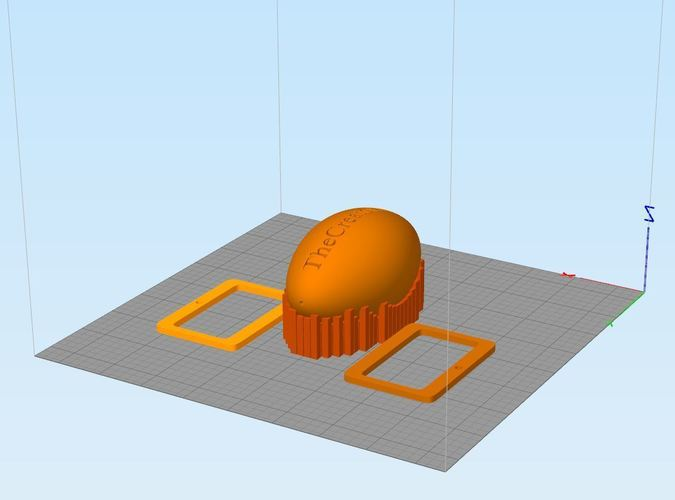 ZeroG Ball- Zip Line Toy - Team Work Tool 3D Print 120512