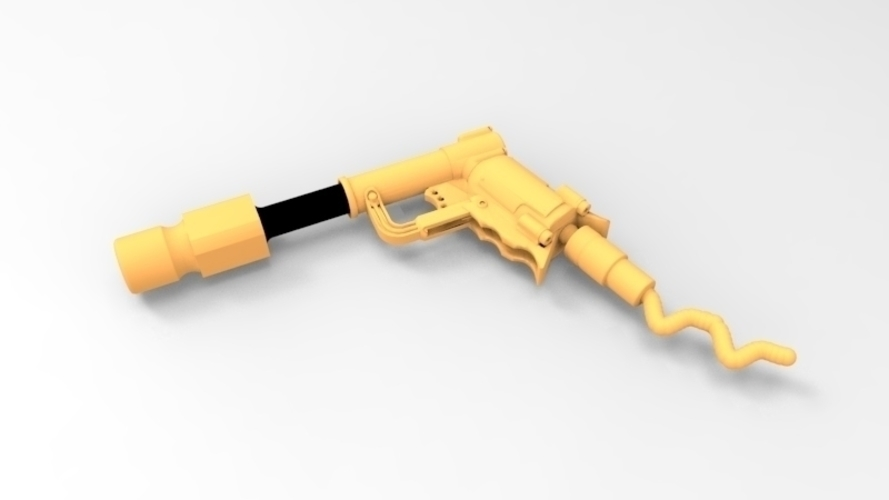 THE ​SPACE AIR HAMMER​ 2.0 - *FREE DOWNLOAD* 3D Print 120548
