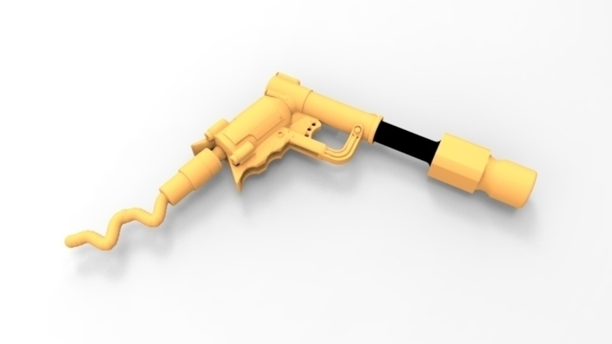 THE ​SPACE AIR HAMMER​ 2.0 - *FREE DOWNLOAD* 3D Print 120549