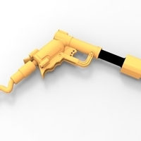 Small THE ​SPACE AIR HAMMER​ 2.0 - *FREE DOWNLOAD* 3D Printing 120549
