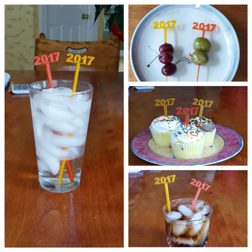 Celebrate the New Year with Party Picks and Swizzle Sticks 3D Print 120599
