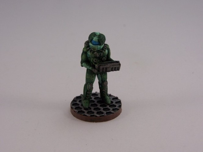 28mm Scifi Corporate Mercenary 3D Print 1206