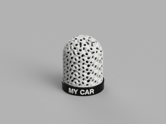 Hitch cover gyroidal 3D Print 120632