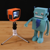 Small GoPro Hero 5 NinjaFlex Case with Tripod 3D Printing 120637