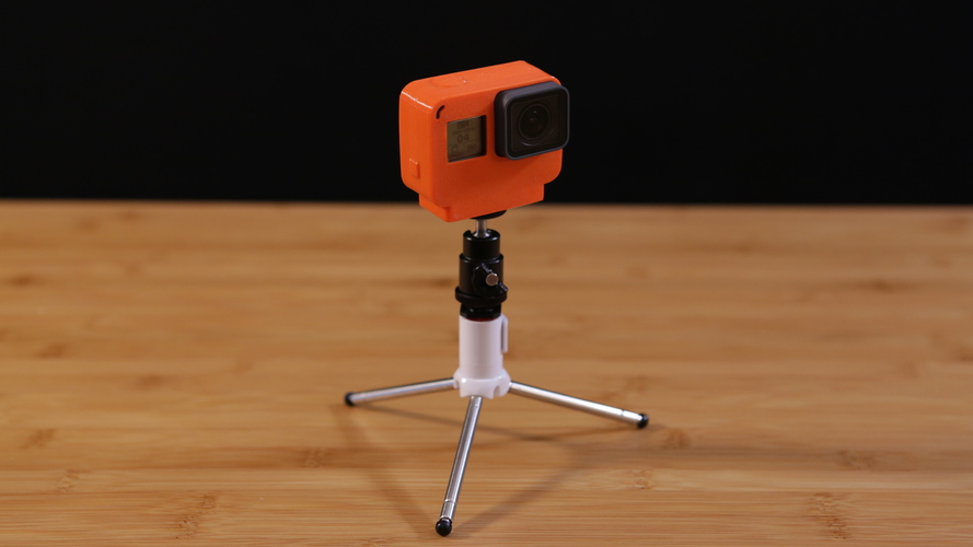 GoPro Hero 5 NinjaFlex Case with Tripod 3D Print 120638