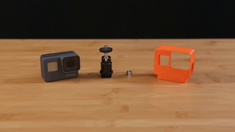 GoPro Hero 5 NinjaFlex Case with Tripod 3D Print 120639