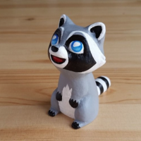 Small Raccoon  3D Printing 120717