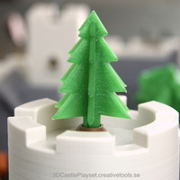 Small Simple 3D-printable pine tree 3D Printing 120789