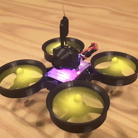 Small Tiny Whoop 2S 90mm Polycarbonate 3D Printing 120851