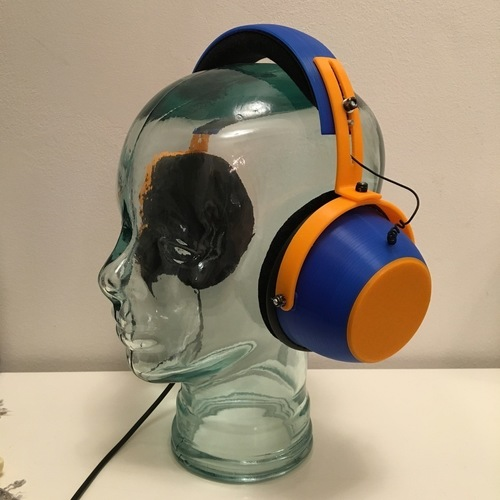 "Tunable ""Open/Closed"" Headphones  3D Print 120871"
