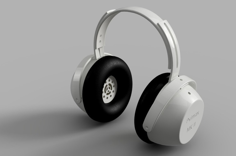 "Tunable ""Open/Closed"" Headphones  3D Print 120872"