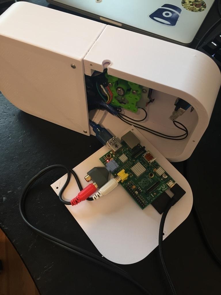 3d Printed Arcade Joystick Embedded Pi By Keganholtzhausen Pinshape Wire Harness Prints
