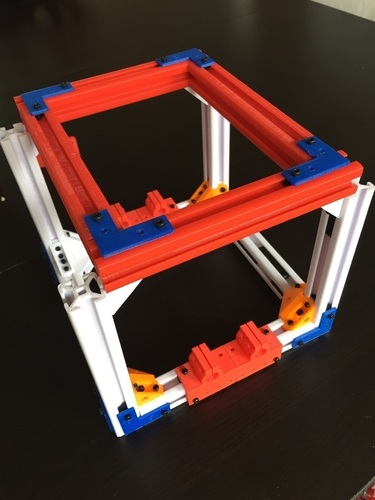 2020 T-Slot Extrusion and Fixtures 3D Print 120893