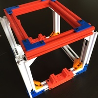 Small 2020 T-Slot Extrusion and Fixtures 3D Printing 120893
