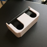 Small Bathroom Pipe Bracket 3D Printing 120901